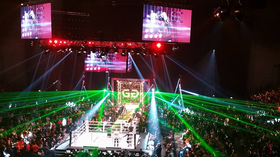 GLORY Collision Kickbox – 10 decembrie 2016 – Oberhausen Germania