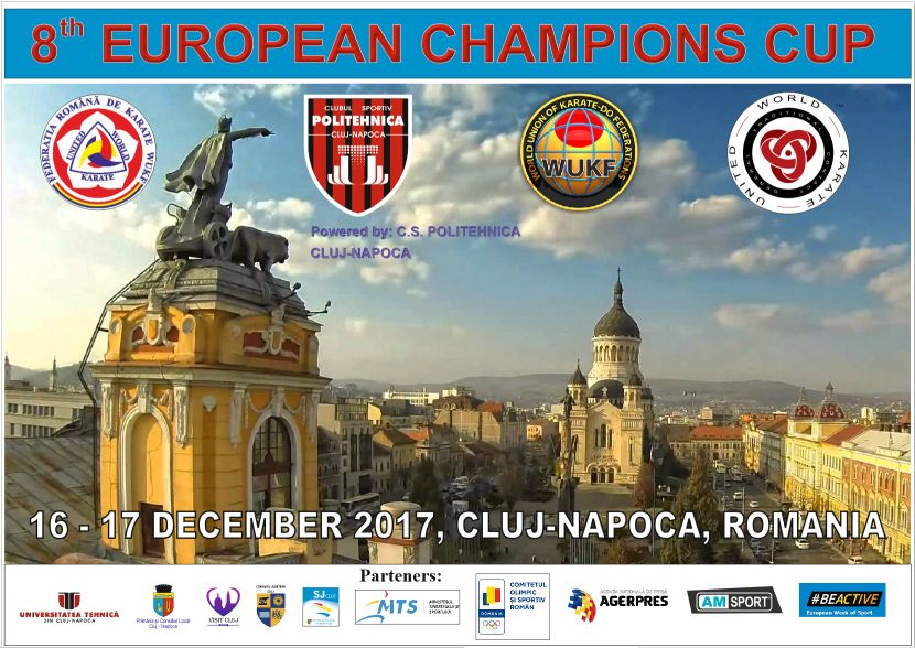 Karate – 8th EUROPEAN CHAMPIONS CUP, CLUJ-NAPOCA 2017